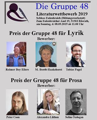 Kultur: Literaturwettbewerb in Rösrath