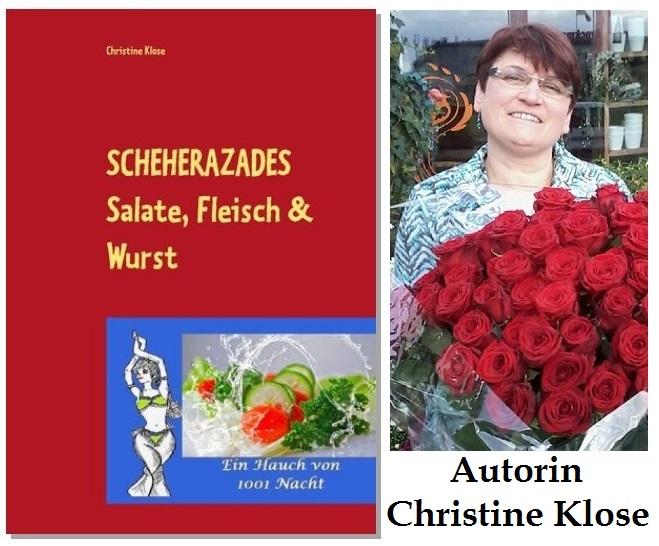 Autorin Christine Klose schreibt 12. Scheherazade Buch