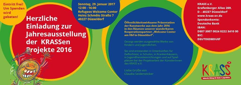 Einladung zur Eröffnung am 29.1. 12oo WelcomeCenter Düsseldorf
