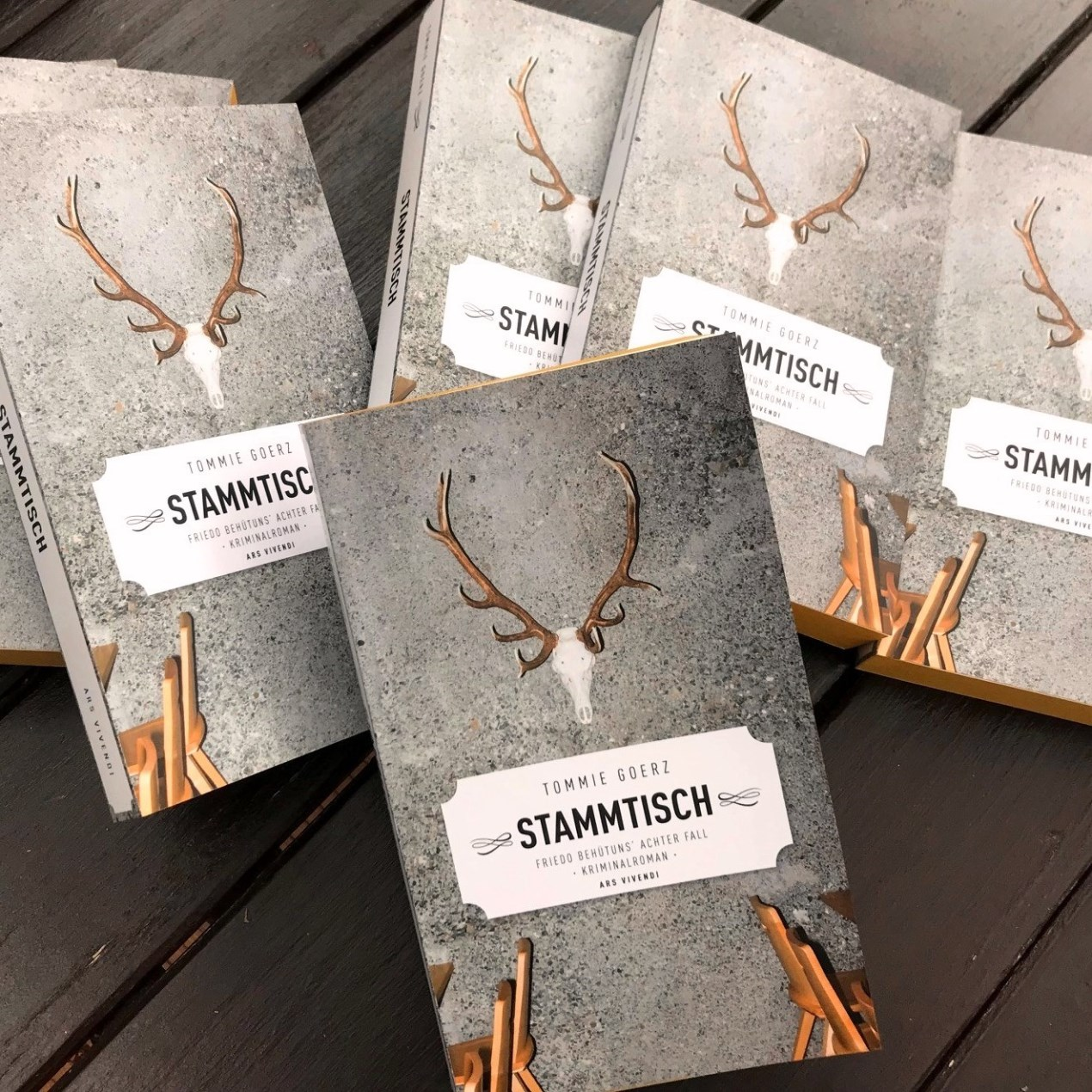"""(Jocki_Foto, Erlangen): Tommie Goerz' neuer Frankenkrimi """"Stammtisch"""" jetzt im Buchhandel"""