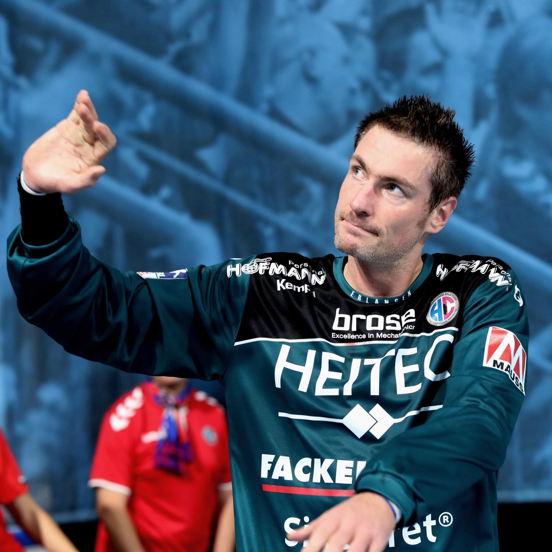 (Jocki_Foto, Erlangen): Carsten Lichtlein verlässt im Sommer den HC Erlangen