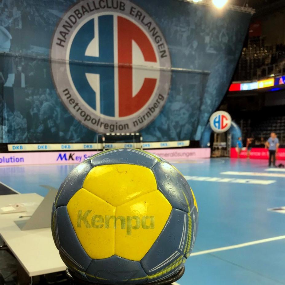 (Jocki_Foto, Erlangen): HC Erlangen: Handball-Bundesliga setzt den Spielbetrieb bis 16. Mai aus