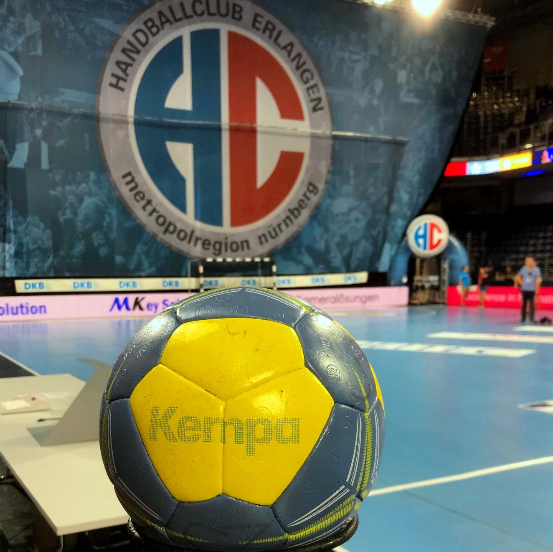 (Jocki_Foto, Erlangen): HC Erlangen: Die Handball-Bundesliga hat die Saison vorzeitig beendet