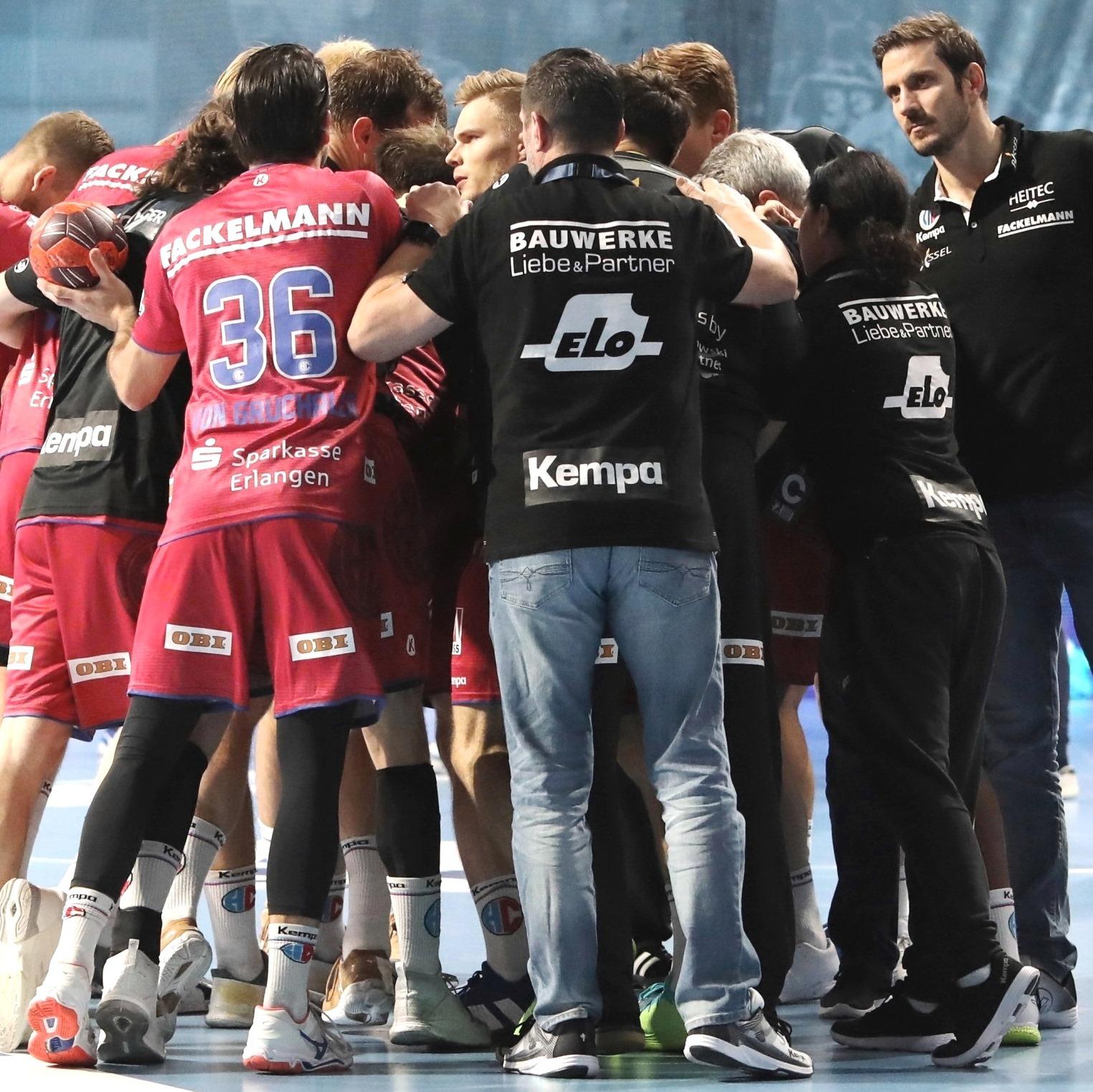 (#Jocki_Foto, Erlangen) - Handball-Bundesliga: Testspiele für den HC Erlangen terminiert