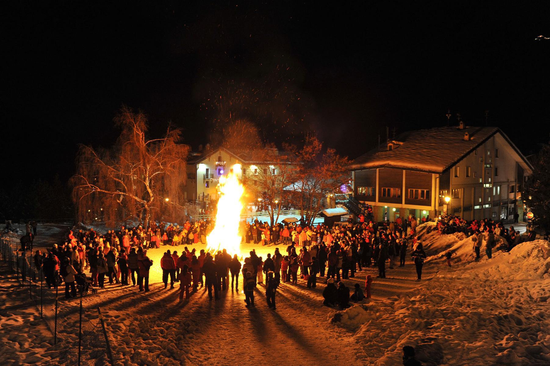 Capodanno in Piazza in Cogne / @ Turismo Valle d'Aosta