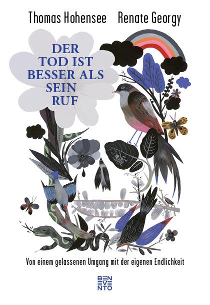 """Buchcover Thomas Hohensee/Renate Georgy """"Der Tod ist besser als sein Ruf"""", Benevento"""