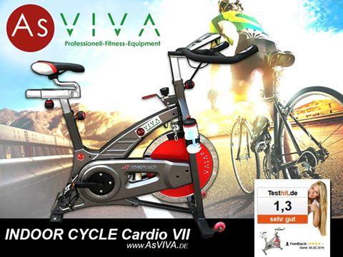 AsVIVA Indoor Cycle Cardio VII Sport bicycle