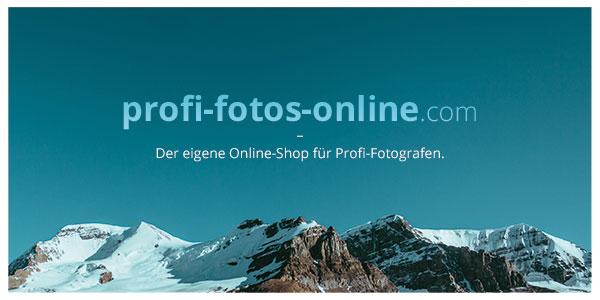 Der intuitive Onlineshop für Fotografen zum Verkauf von Fotos an Kunden
