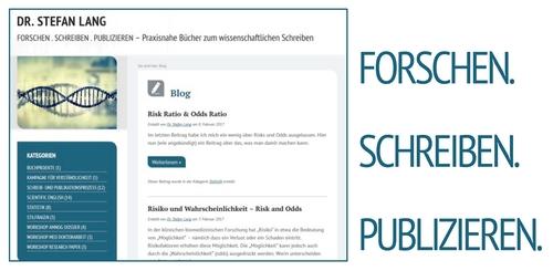 Scientific Writing Blog: forschen-schreiben-publizieren