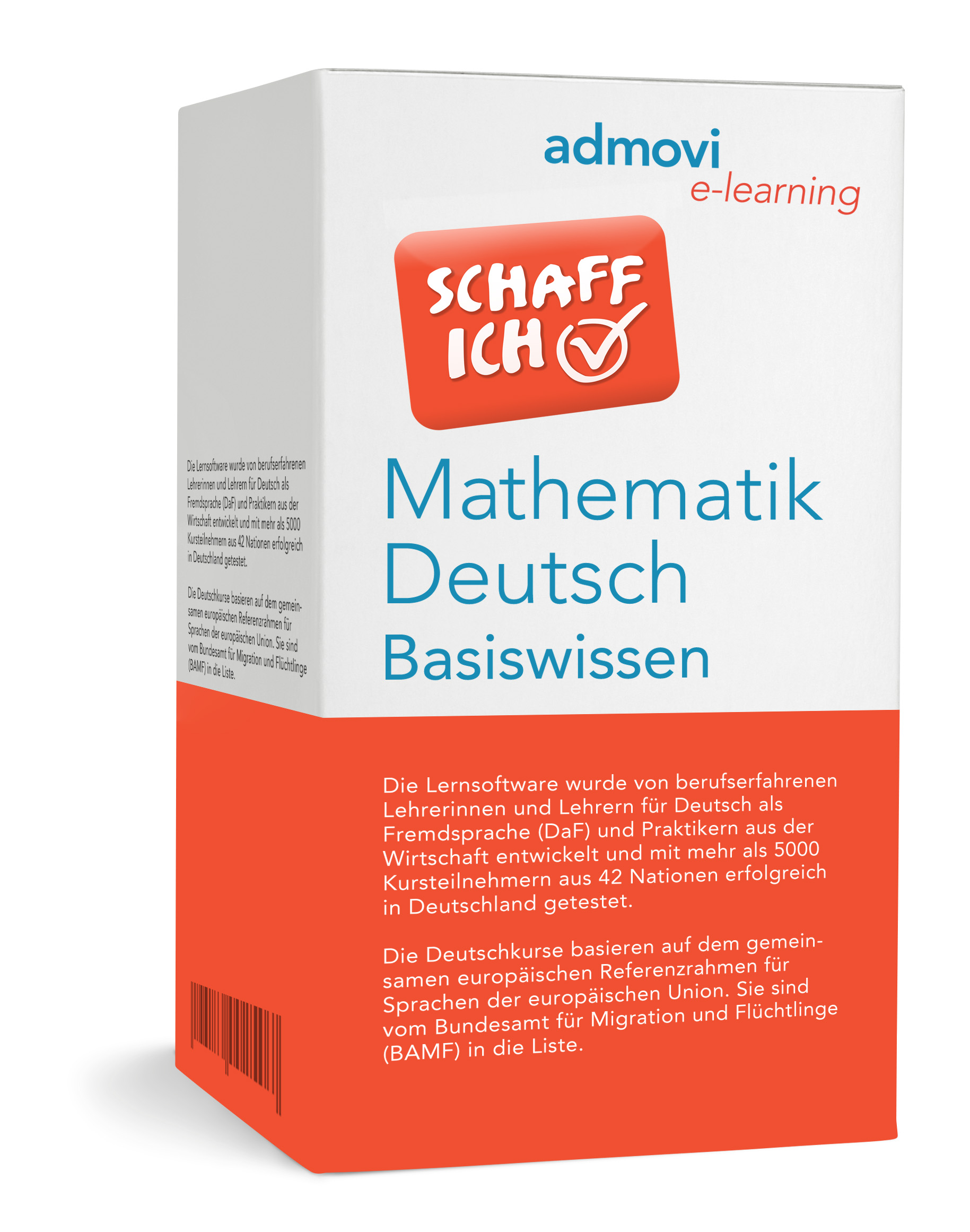 Lernsoftware Deutsch und Mathematik zur individuellen Förderung junger Erwachsene und Schüler