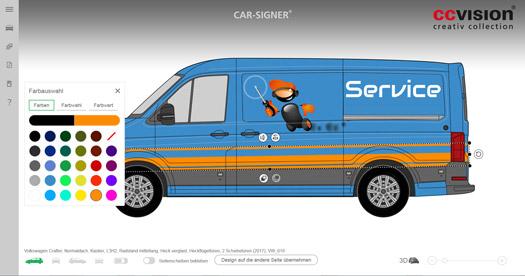 Der responive Aufbau des CAR-SIGNER® ermöglicht Gestaltung auf allen Endgeräten