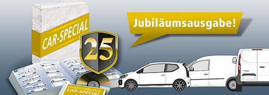 Mit CAR-SPECIAL® ist 2D- und 3D-Präsentation sehr einfach