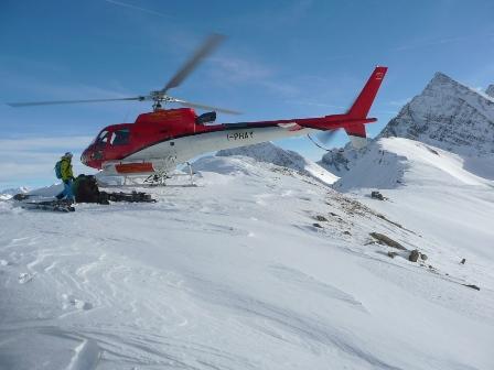Heliski in Courmayeur © Turismo Valle d'Aosta