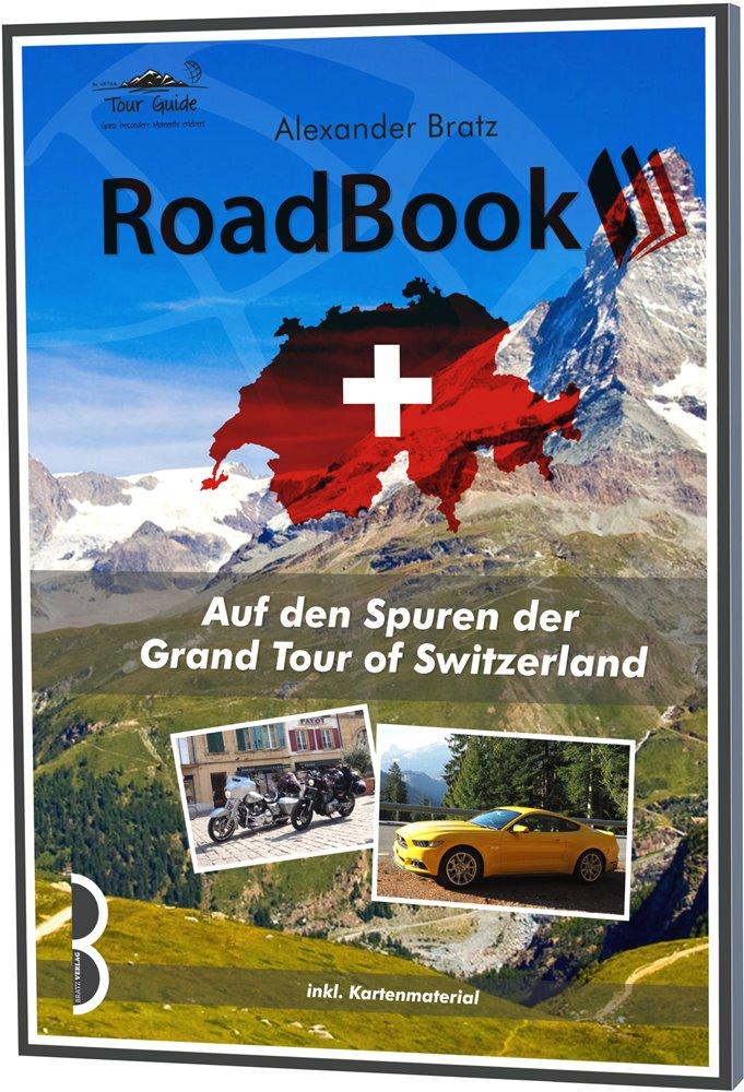 Das GRAND TOUR- ROADBOOK: Cover des Buches