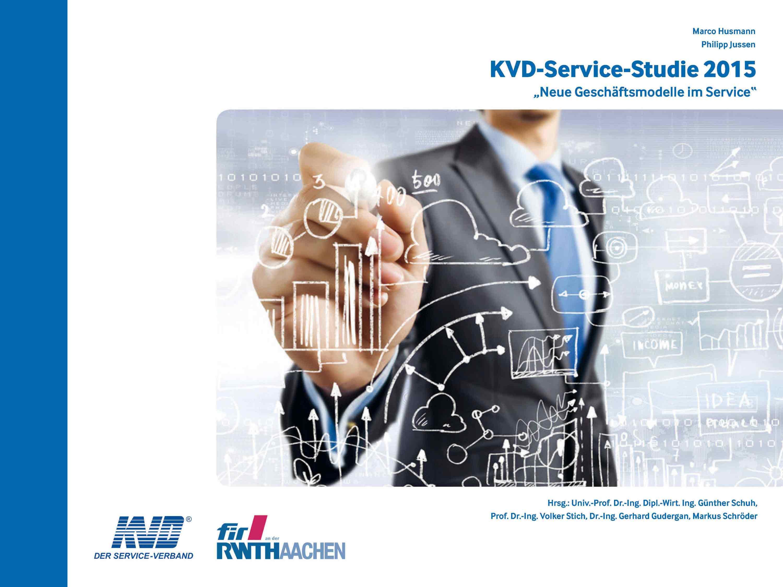 Cover der KVD-Service-Studie 2015