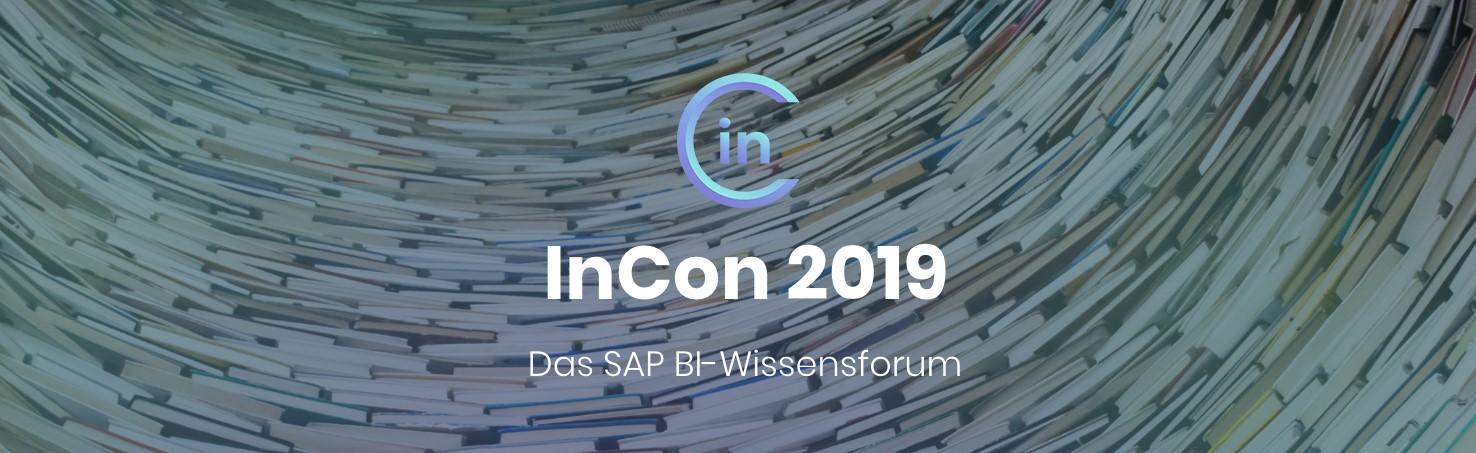 InCon 2019 - das SAP BI-Wissensforum
