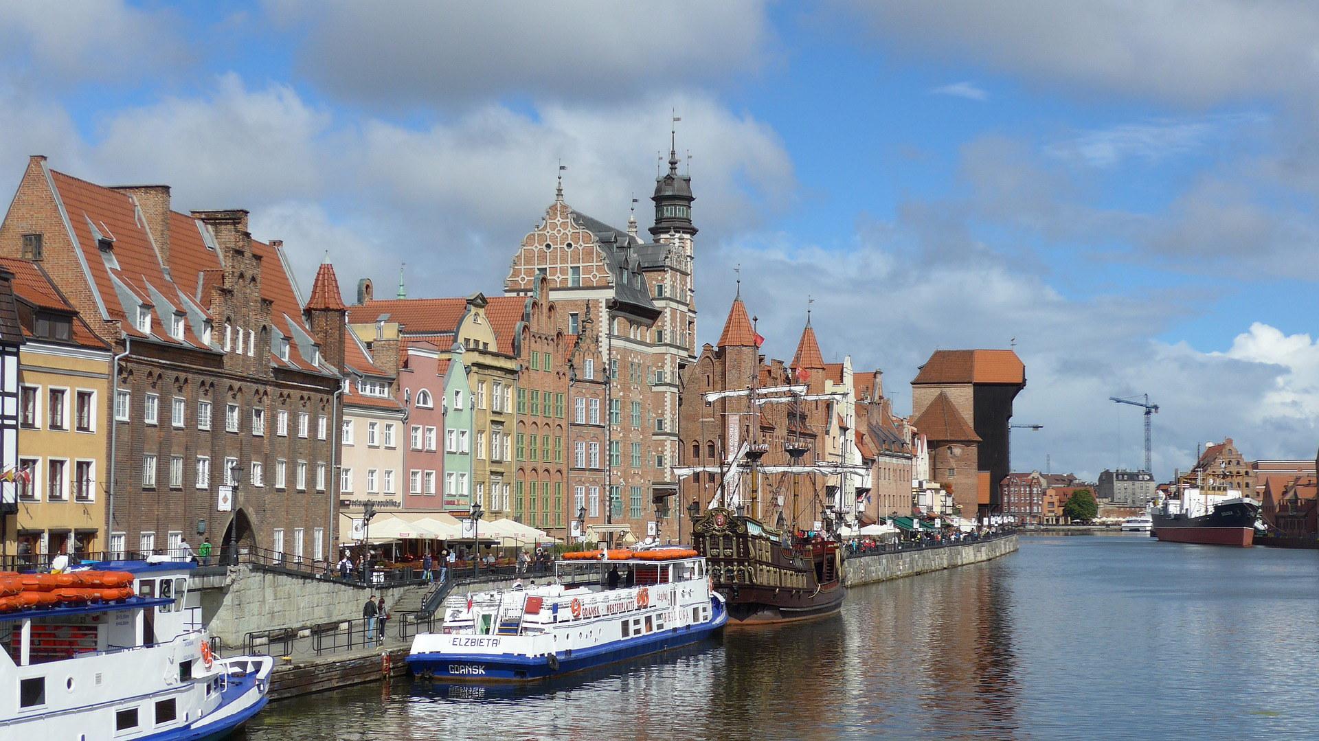 Danzig -eine der schönsten Städte in Polen