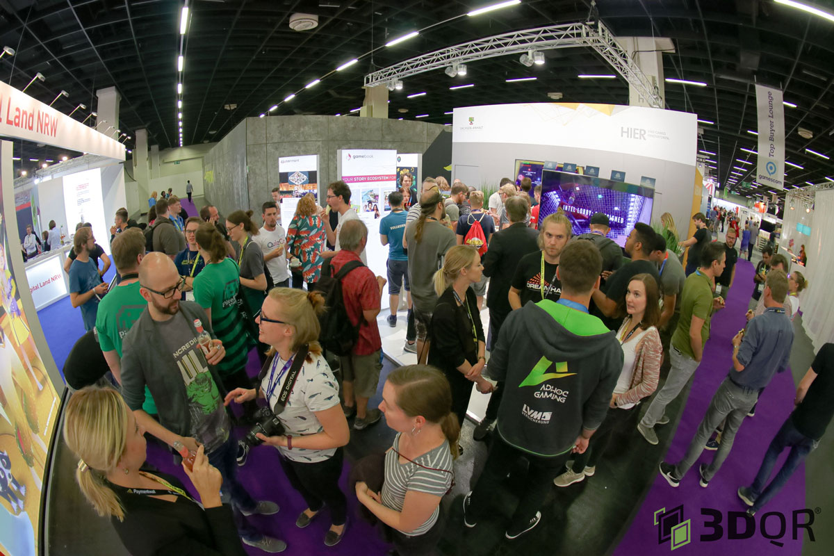 3DQR was at Gamescom