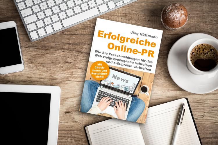 Erfolgreiche Online-PR - der neue Praxisratgeber ist ab sofort erhältlich - © luckybusiness/Jörg Hüttmann