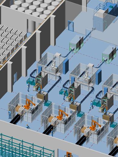 Die richtige Fabrikplanungssoftware für den schnellen 3D-Einstieg