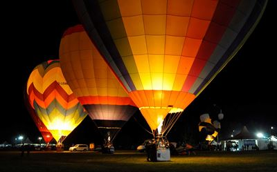 Ferrara Heißluftballon Festival