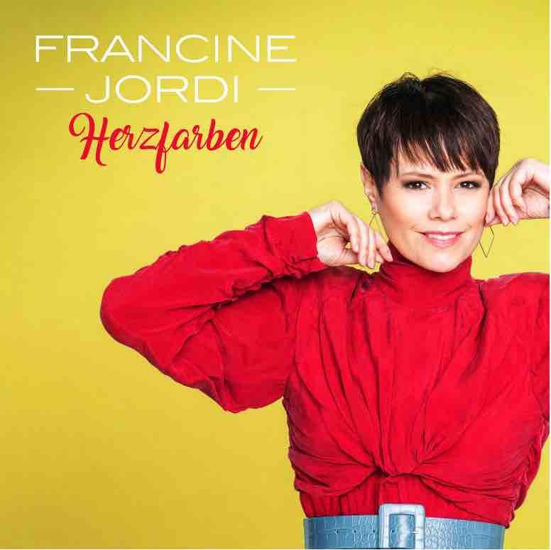 "Francine Jordi - Album Cover ""Herzfarben - Meine Best Of"""