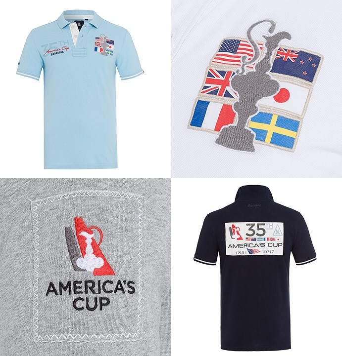 America's Cup Poloshirt von Gaastra zur 35. Ausgabe, www.gaastraproshop.com