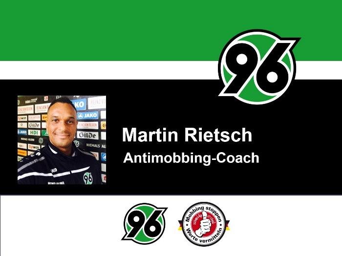 Antimobbing-Coach Martin Rietsch aka 2schneidig