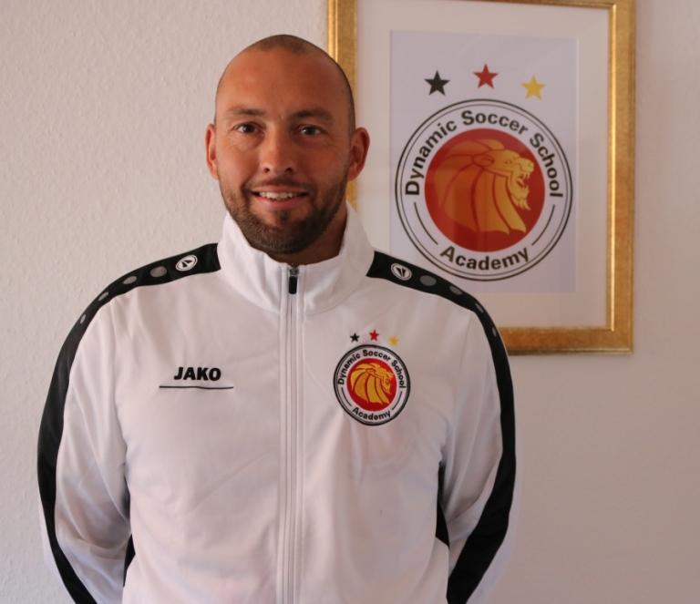 Sven Meinecke ist Neuzugang im Trainerstab der Dynamic Soccer School