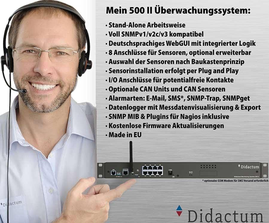 IT Monitoring mit Didactum Überwachungssystemen