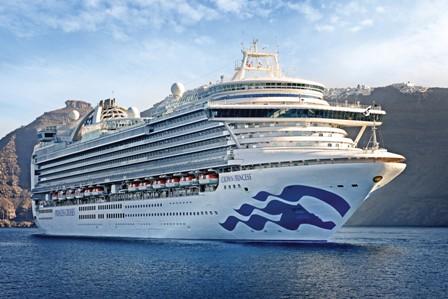 2022/23 im Hawaii-Archipel und im Südpazifik unterwegs: die Crown Princess