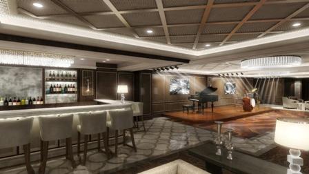 Mit der Take 5-Lounge präsentiert Princess Cruises die erste Jazz-Arena auf See