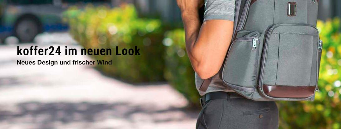 koffer24 präsentiert sich seinen Kunden mit einem neuen Shopdesign von den SHOPMACHERN