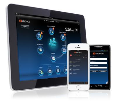 Kronos Workforce für Mobilgeräte und Workforce Tablet