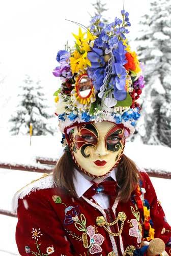 Cumba Freida Karneval Aostatal, Italien