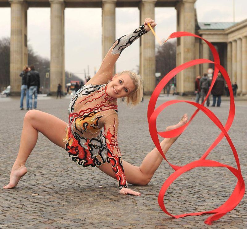 Live am 29.09.2019 im AEZ: Gymnastik-Ikone und TV-Star Magdalena Brzeska Foto/Copyright: Star Press