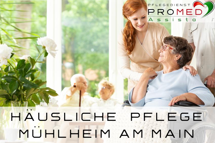 Pflegedienst Mühlheim am Main, häusliche Pflege Mühlheim am Main