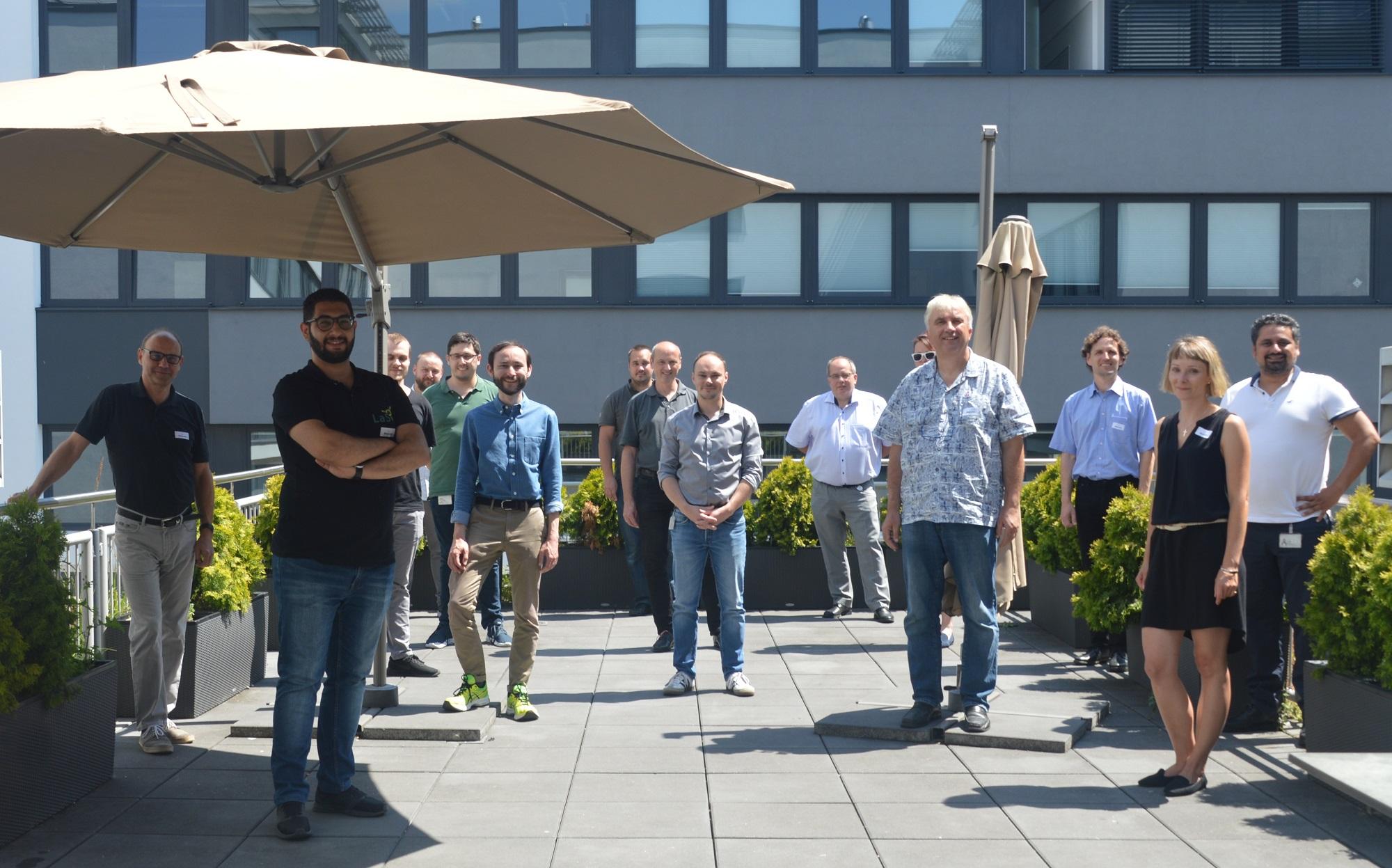 Das Projektteam der imbus AG, der EFS und des LaS³ der OTH Regensburg bei der offiziellen Kick Off Veranstaltung.
