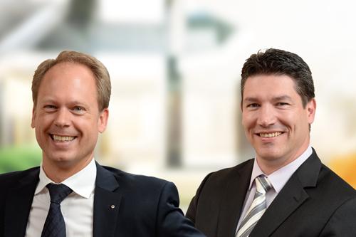 Florian Rauhut und Patrick London unterstützen Unternehmer bei der Nachfolgeregelung