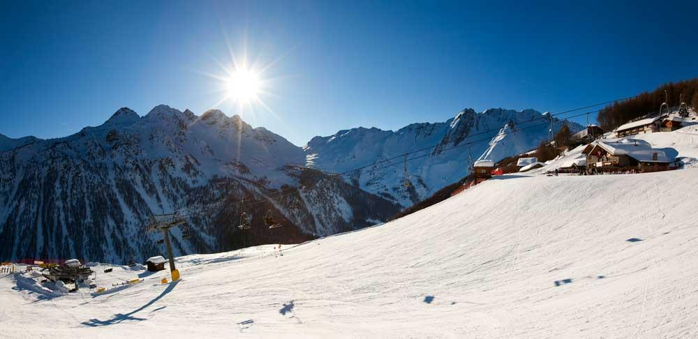 Skigebiet Crevacol © Foto archivio Regione Autonoma Valle d'Aosta