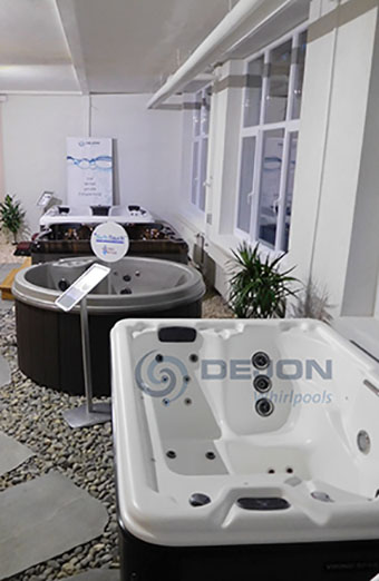 Whirlpools, Messe, DEJON, Wellness