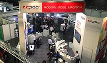 Messestand TCPOS igeho 2015