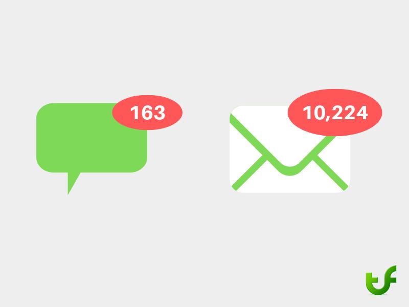 Viele E-Mails tragen zur psychischen Belastung am Arbeitsplatz bei