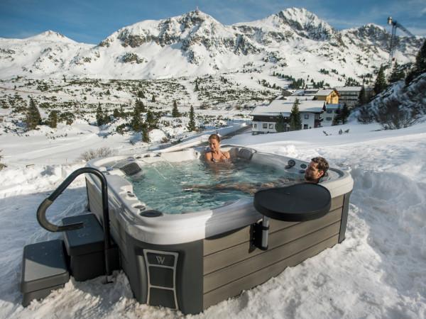 Whirlpools für den Winter von SPA Deluxe