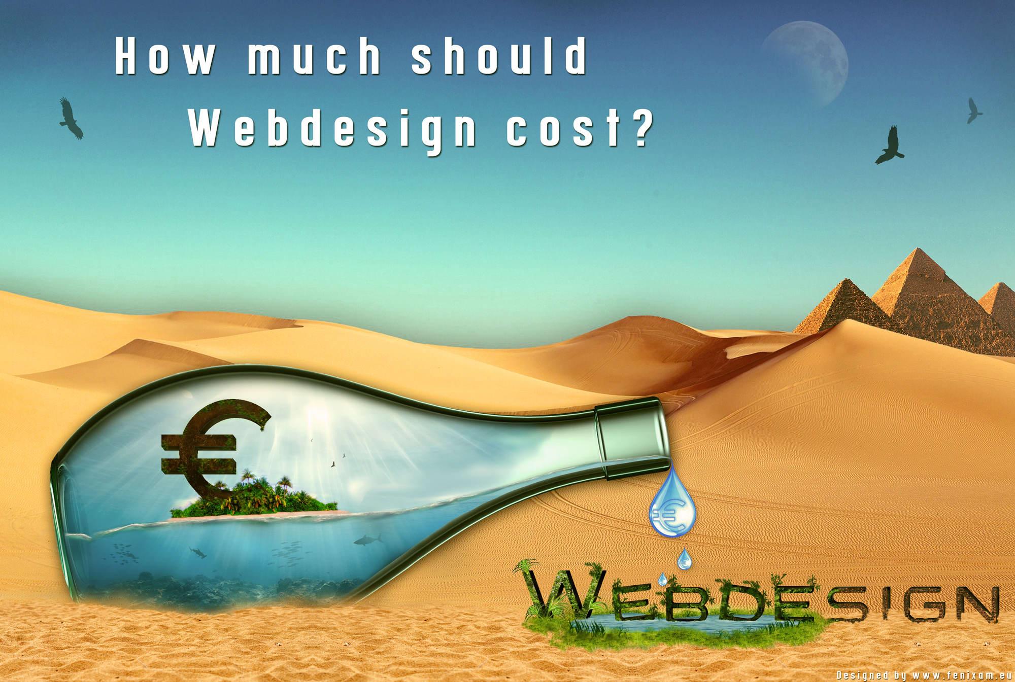 Wie viel kostet eine Firmenwebseite?